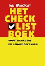 Het checklistboek voor managers en leidinggevenden