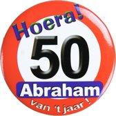 Paperdreams - Button - verkeersbord - Klein - Abraham