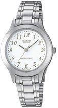 Casio LTP-1128PA-7BEF - Horloge - 27 mm - Staal - Zilverkleurig