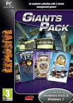 Giant Pack (Hotel Giant/Transport Giant/ Traffic Giant) (EXPLOSIVE) /PC - Windows