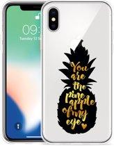 Apple iPhone Xs Max Hoesje Big Pineapple