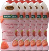 Palmolive Douchecrème Strawberry Touch - Voordeelverpakking - 6 x 250ml