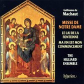Machaut: Messe de Nostre Dame, etc / Hilliard Ensemble