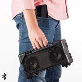 Boombox Bluetooth Speaker - Zwart