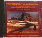 Vierhändige Klaviermusik Der Russischen Romantik