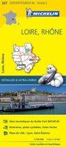 Loire / rhone 11327 carte ' local ' ( France ) michelin kaart