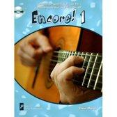 Encore 1 - ( Boek/CD) Aanvullende speelstukjes - akoestisch gitaar leren spelen