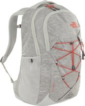 636d368ebf4 The North Face Jester Women Rugzak Tin Grey Dark Heather/Spiced Coral