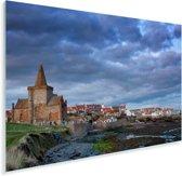 Bewolkte dag bij het Schotse Fife in Europa Plexiglas 60x40 cm - Foto print op Glas (Plexiglas wanddecoratie)
