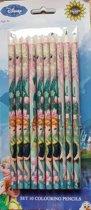 Frozen kleurpotloden  10 Stuks