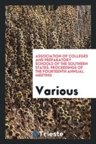 Association of Colleges and Preparatory Schools of the Southern States; Proceedings of the Fourteenth Annual Meeting