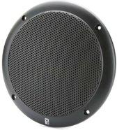 Poly-Planar Waterproof 2-Way Coax Speakerset Black - 4 inch
