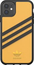 adidas OR Moulded Case PU SS20 for iPhone 11 collegiate gold/black
