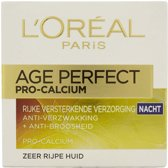 L'Oreal Paris Age Perfect Pro Calcium Anti Rimpel - 50 ml - Nachtcrème