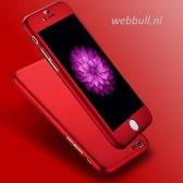 iPhone 7 360 Graden Hoesje (Rood)