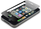 Avanca ToughGlass screenprotector voor iPhone 4 zwart