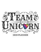 Team Unicorn 2019 Planner