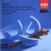Handel:  Music for the Royal Fireworks, Water Music (2 cd's)