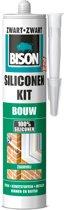 Bison Siliconenkit Bouw Koker - Zwart - 310 ml