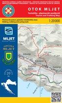 Wandelkaart Otok Mljet (eiland) Kroatie (20)