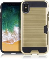 Mobigear Brushed Goud iPhone Xs Max