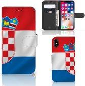 Bookstyle Case  iPhone X | Xs Kroatië