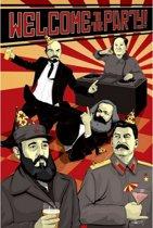 Communisten poster Party 61 x 91,5 cm