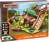 Mattel Speelset Matchbox Mission: Croc Escape