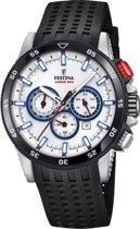 Festina F20353/1 horloge heren - zwart - edelstaal