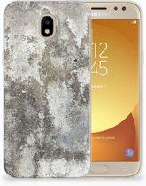 Samsung Galaxy J5 2017 TPU Hoesje Design Beton