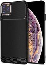 Apple iPhone 11 Pro Armor TPU Hoesje Zwart