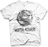 Merchandising MORTAL KOMBAT - T-Shirt Dragon - White (L)