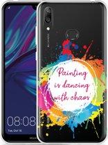 Huawei Y7 2019 Hoesje Painting