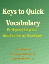 Boekomslag van 'Keys to Quick Vocabulary'
