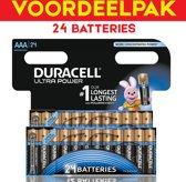 Duracell Ultra Power 24x AAA (potlood) batterijen - 24 stuks