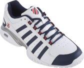 K-Swiss Receiver III Omni Tennisschoenen - Maat 46 - Mannen - wit/blauw/rood