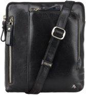 Visconti Merlin leather Roy Messenger Bag - ML20bk