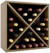 Wijnkast wijnrek Weino III modulair samen te stellen sonoma eiken