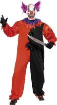 Enge clown kostuum voor volwassen - Verkleedkleding - Large
