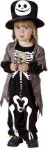 Skelet van de nacht kostuum voor kinderen - Verkleedkleding