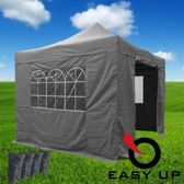 Partytent 3x3 EASY UP | GRIJS