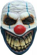 Halloween Masker Clown Mond Deluxe voorkant