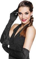 24 stuks: Handschoenen opera Los Angeles - zwart