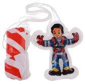 Toi-toys Parachutespringer 10 Cm Blauw/rood