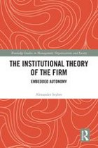 The Institutional Theory of the Firm