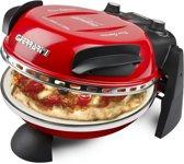 G3Ferrari-Pizza Oven-DELIZIA-rood - Pizzaoven inclusief aluminium pizza spatels