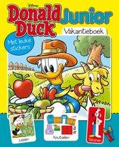 Boek cover Donald Duck Junior Vakantieboek 2019 van Sanoma Media Jeugd (retail)