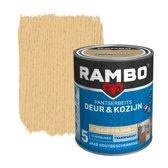 Rambo Deur & Kozijn pantserbeits zijdeglans transparant kleurloos 0000 - 2,5 Liter
