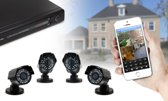 Beveilingscamera IP Camera 4 Camera`s -
