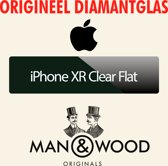 Man & Wood - iPhone XR - Clear Flat Diamantglas® Screen Protector